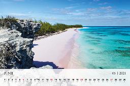 Mesec junij krasi na koeldarju plaža s Karibov.