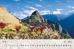 Mesec maj krasi na koledarju Machu Picchu